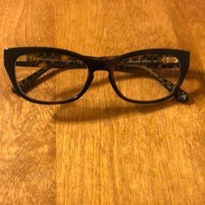 Coach tortoise glasses.